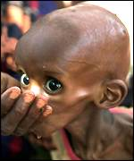 Hungry child