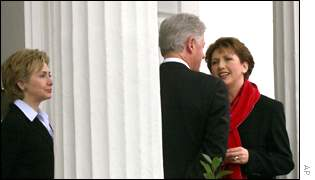 Mary McAleese meets Bill Clinton
