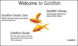 Goldfish web page