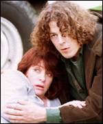 Caroline Quentin and Alan Davies