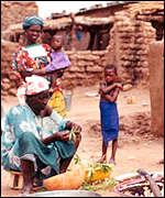 A Malian family
