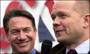Michael Portillo and William Hague