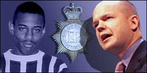 Stephen Lawrence and William Hague