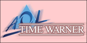 AOL and Time Warner logos