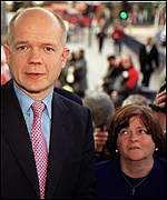 William Hague and Ann Widdecombe