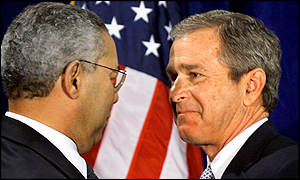 Bush and Powell