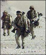 British troops in the Gulf War