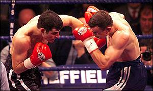 Calzaghe's better combinations proved decisive