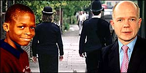 William Hague says stop and search powers are vital