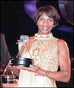 Denise at the BBC Sports Personality of the Year