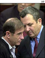 Shlomo Ben-Ami and Ehud Barak