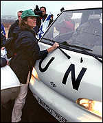 UN vehicle
