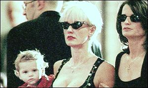 Paula Yates and Tiger Lily