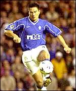 Rangers player Michael Mols