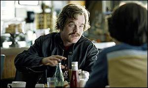 Hoffman as Lester Bangs in Almost Famous