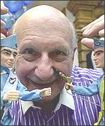 Gerry Anderson, creator of the Thunderbirds