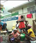 Sierra Leone refugees in Conakry