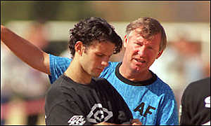 Giggs and Ferguson