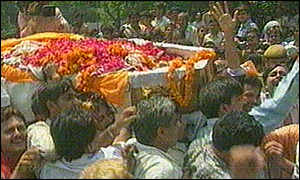 Funeral of Gulshan Kumar