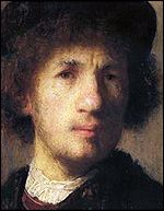 Rembrandt self portrait from 1630