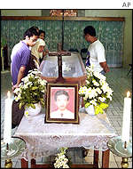 Funeral of bombing victim