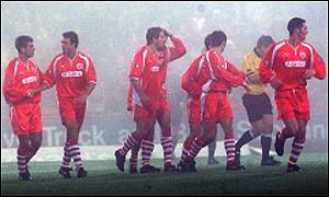 Aberdeen's celebrations were short-lived