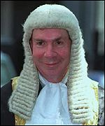 Lord Irvine of Lairg, the Lord Chancellor