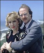 Patricia Hodgson and Dennis Waterman