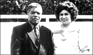 Brown Mpinganjira and his wife Lizzie