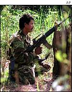 FARC rebel