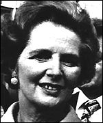 margaret Thatcher in the 1970s
