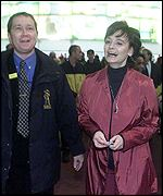Cherie Blair visits the Dome