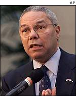 Incoming Secretary of State Colin Powell