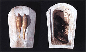 Ancient Egyptian animal coffins