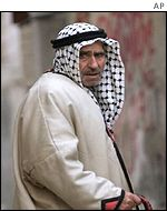 Resident of Kalandia camp, near Ramallah