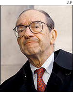 Fed chief Alan Greenspan