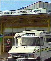 [ image: Royal Bournemouth Hospital where Catherine was treated]