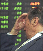 [ image: World stock markets have been hit by Japan's problems]