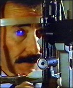 Robert Winston and eye machine
