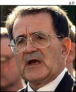 Prodi: DU weapons should be scrapped, if there is any risk