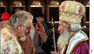 Priest and Patriarch Pavle
