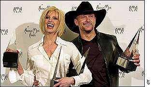 Faith Hill and husband Tim McGraw