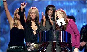 The band triumphed at the MTV Europe Awards in 2000 when they were named best pop act