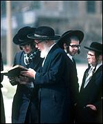 Orthodox Jews in Jerusalem