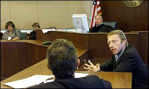 Boris Becker in Miami court