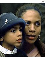 Barbara Becker with son Noah