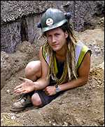 Archeologist Joe Severn