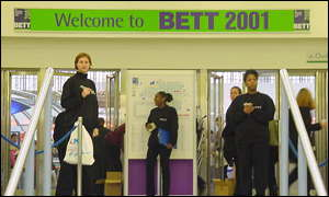 entrance to the BETT show