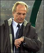 Time is running out for Sven Goran Eriksson