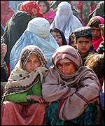 Refugees in Peshawar, Pakistan